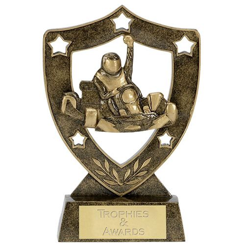 Star Shield Go Karting Trophy1